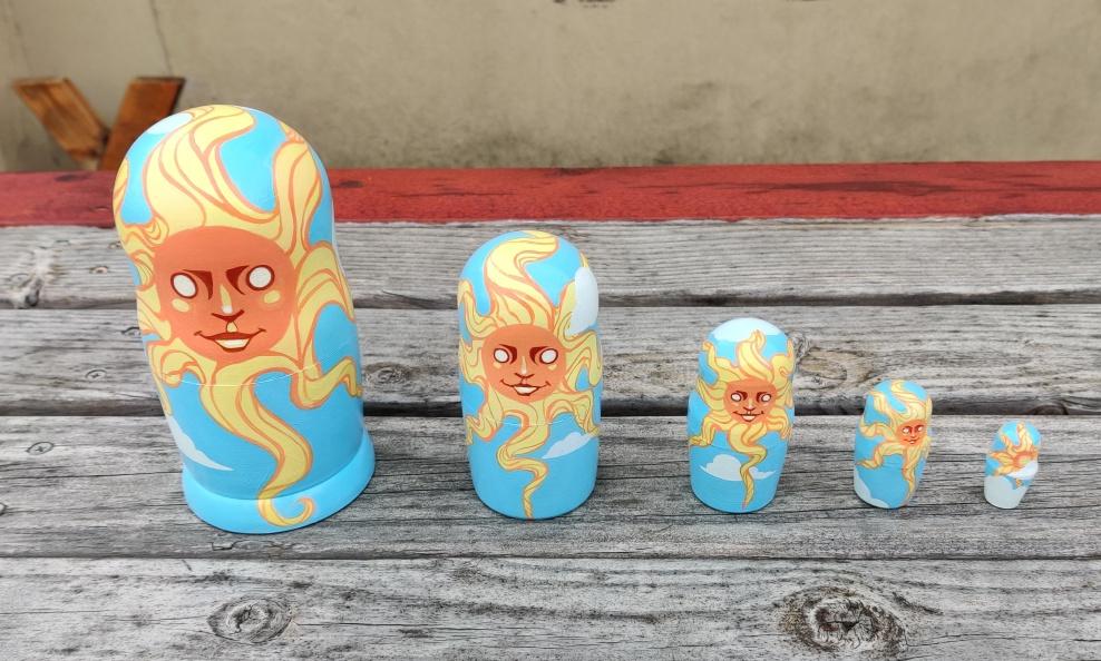 Sun, Sol, Soleil, Soare, Semangat - 5 set : SOLD